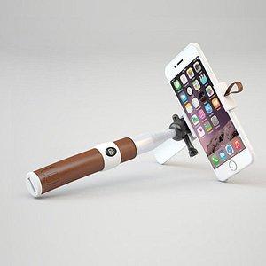 3D Mobile phone self timer model