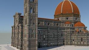 3D Santa Maria Del Fiore