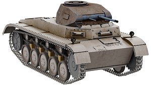 PzKpfw 1 - Panzer 1 - Ausf A 3D