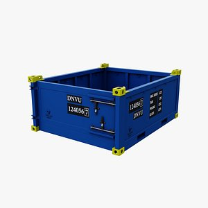3D model 10 height container