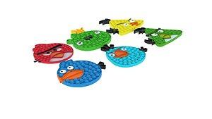3D Angry Birds Pop It Fidget Toys Set
