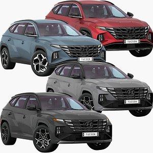Hyundai Tucson 2021 Low Interior Collection model