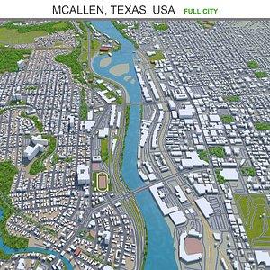 3D McAllen Texas USA