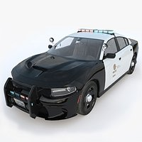 Dodge Charger SRT Hellcat LAPD