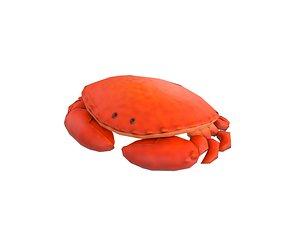 3D steamed crab