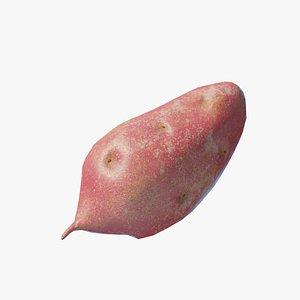 Cartoon Sweet potato 3D model
