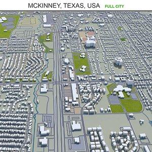 McKinney Texas USA 3D model