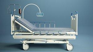 3D Medical bed PBR