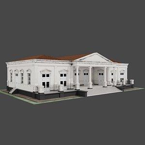 3D model blender pbr