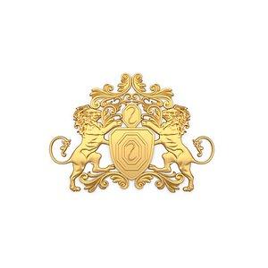 Classic decor ornament 36 3D model