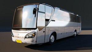 3D bus transportation vehicle