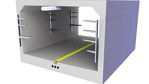 3D tunnel infratunnel infra model