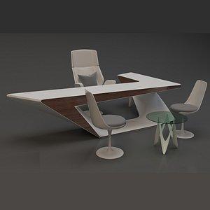 3D modern office design