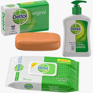 products dettol 3D model
