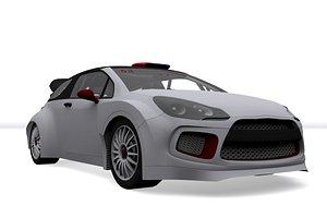 rally car v1 3D model