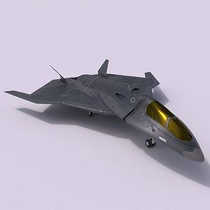 spacecraft fighter saturn 3D model