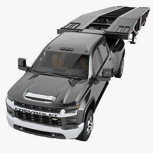 3D Chevrolet Silverado 3500 HD 2021 12