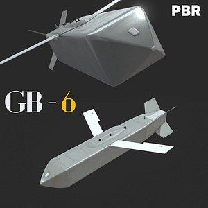 3D GB-6 JSOW Sub-MunitionsDispenser