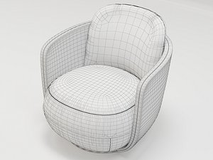 wittman miles armchair 3D model
