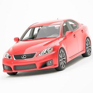 3D model Lexus IS-F 2009