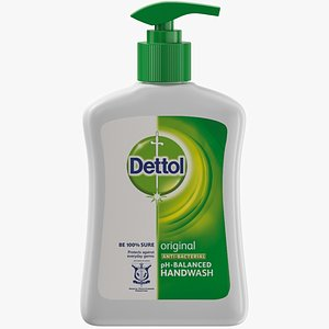 dettol hand wash 3D model