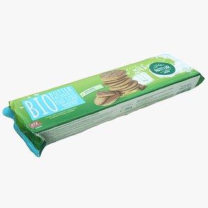 3D pack cookie packaging