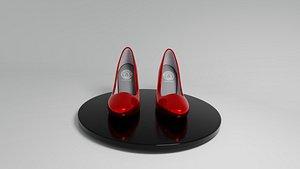 versace high heel woman shoe model