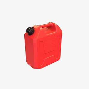 3D Gasoline Container 10L