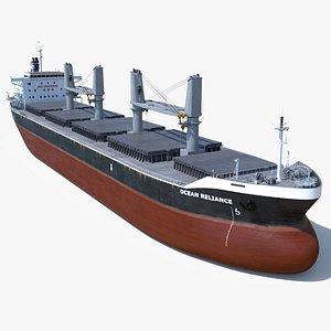 3D model bulk carrier