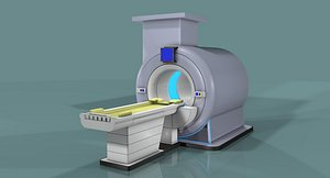 ct scanner machine 3D model