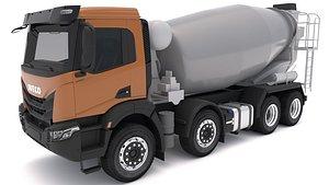 Iveco T-WAY 510 Concrete Mixer 3D