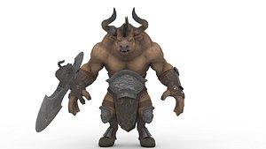 3D Minotaur model