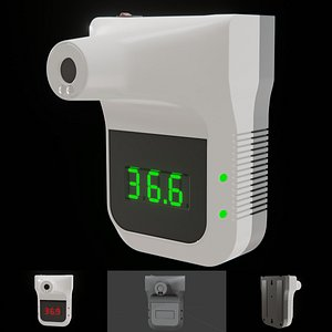 3D model infrared thermometer