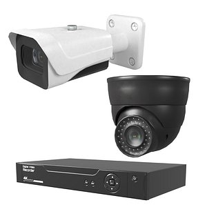 3D Home Security Systems Bundles