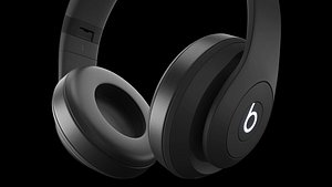 3D model headphones beats