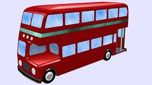 bus isometric 3D model