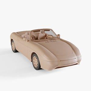 3D 1995 Fiat Barchetta