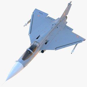 HAL Tejas Multirole Light Fighter Rigged 3D model