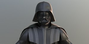 3D model darth vader starwars -