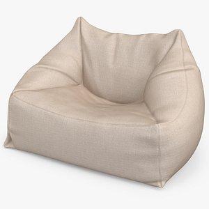 Bean Bag Chair PBR 3D model