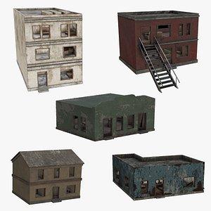 3D model house pack