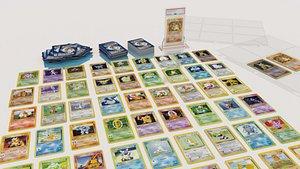3D pokemon card poke