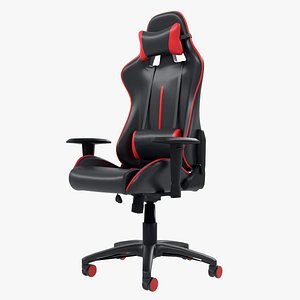 Red Devil Gaming Chair 3D