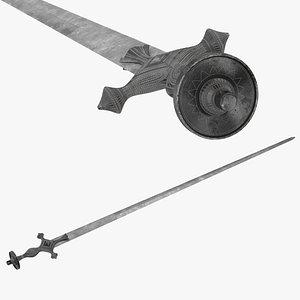 Kayamkulam Sword 3D