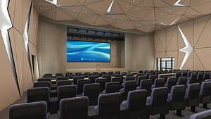 Lecture Hall 20 3D