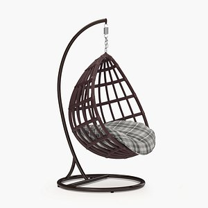 3D hanging chair model