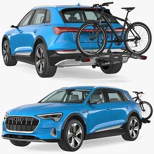 3D Audi E-tron with Thule EasyFold XT2 Mountain Bike