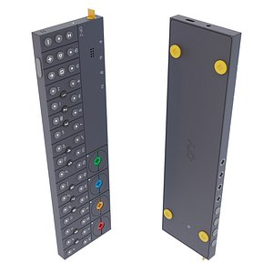 3D Teenage Engineering OP-Z Multimedia Synthesizer and Sequencer