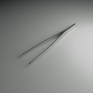 3D model Simple Forceps