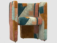FAIRFAX CHAIR apricot BY Kelly Wearstler